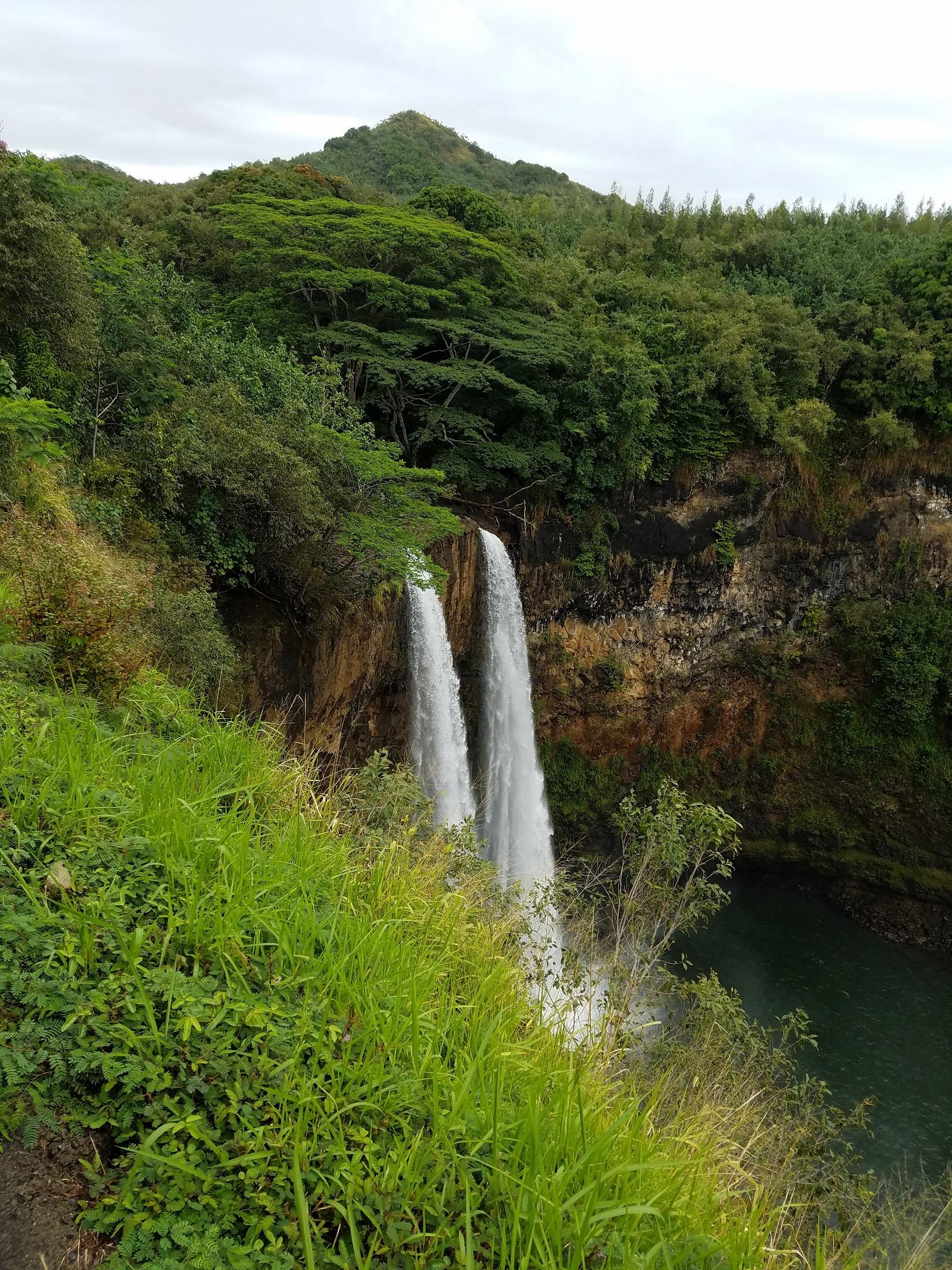 Fantasy Island waterfall